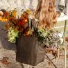 pot de fleurs rond