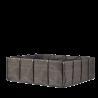 Pot tuteur asphalte (25L)