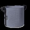 Pot en Batyline rond taupe 10 litres