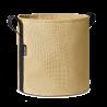 Pot rond à accrocher au balcon en batyline olive 10 litres