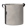 Pot rond à accrocher au balcon en batyline SAINT JACQUES STONE 10 litres