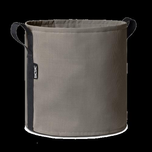Round pot (3L) Asphalte