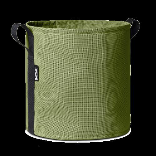 Round pot (25L) Asphalte
