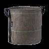 Round pot (50L) Asphalte