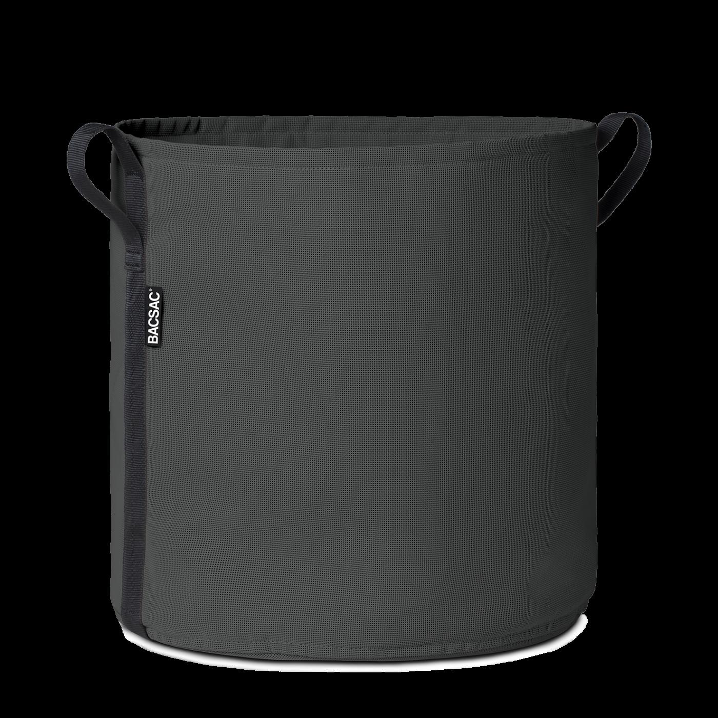 Pot rond (100L) Asphalte
