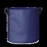 Pot rond à accrocher au balcon en batyline asphalte 10 litres