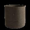 Pot rond à accrocher au balcon en batyline potiron 10 litres