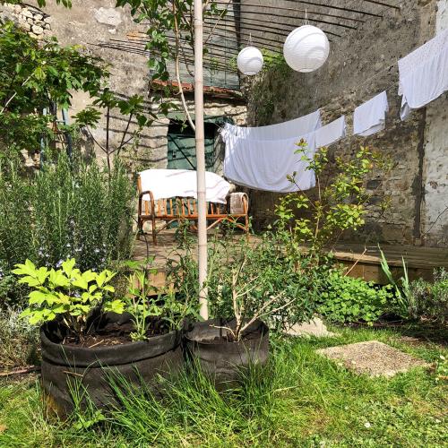 Jardinière accrochée 4 (35L) Olive