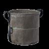 Petite jardinière en toile Batyline potiron de 8 litres