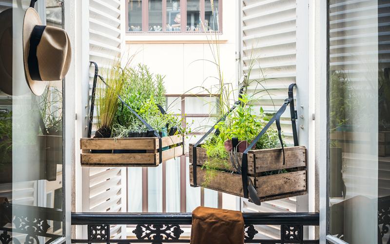 Idées d\'aménagement pour votre fenêtre, balcon, terrasse et cour